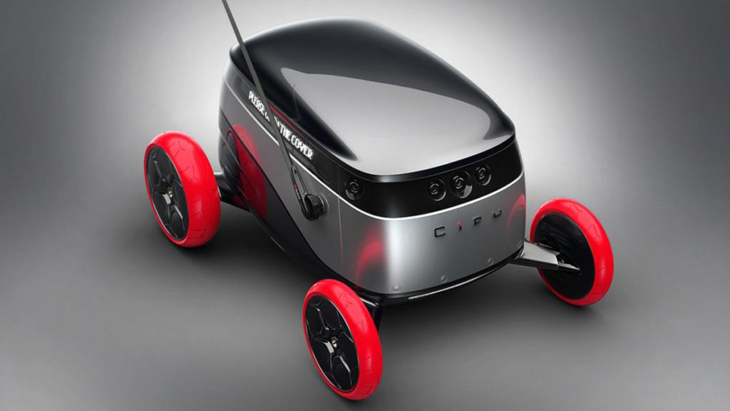 Беспилотный автомобиль Cifu будет работать курьером