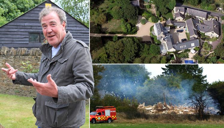 Джереми Кларксон подорвал свой дом за 4 миллиона долларов