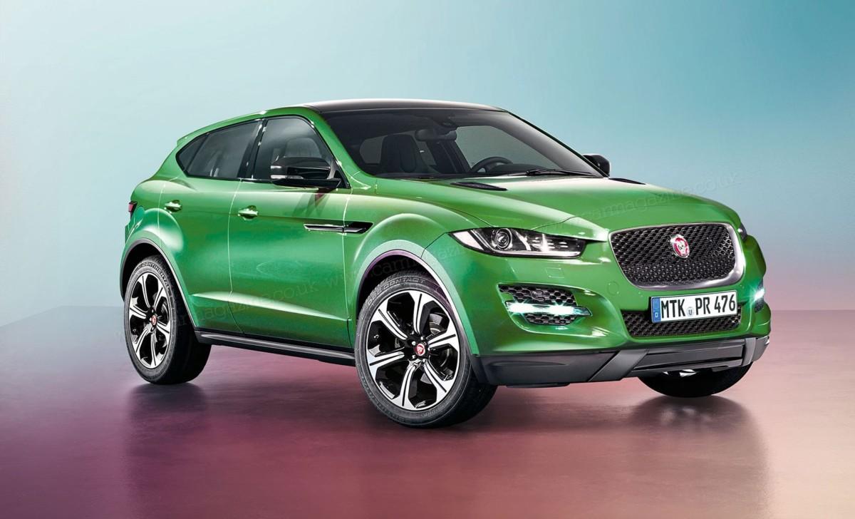 Электромобиль Jaguar - Jaguar E-Pace появится в 2018 году