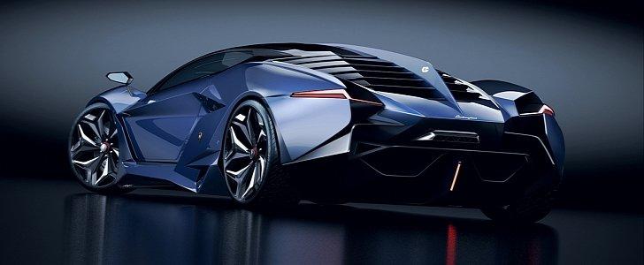 Lamborghini Vitola будет самым быстрым электромобилем в мире