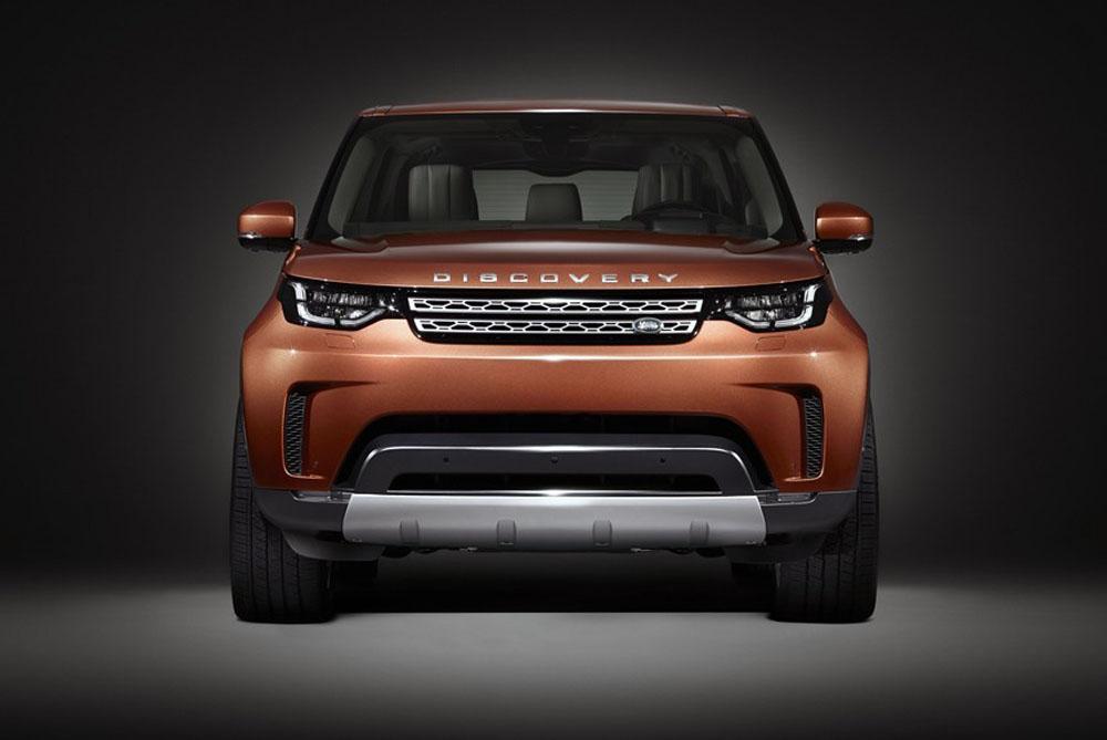 Land Rover Discovery 2018 - первое фото
