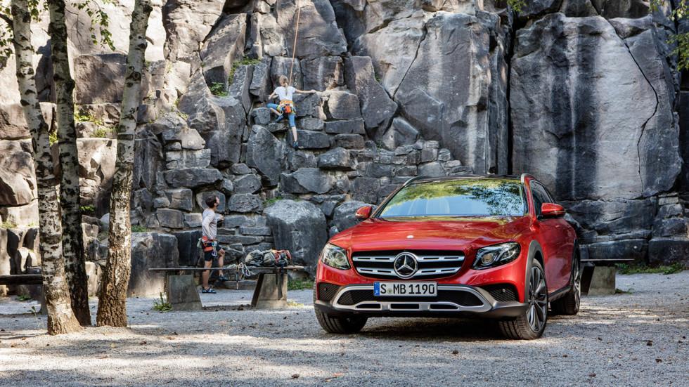 E-Class Estate All-Terrain – новый внедорожный универсал Mercedes-Benz