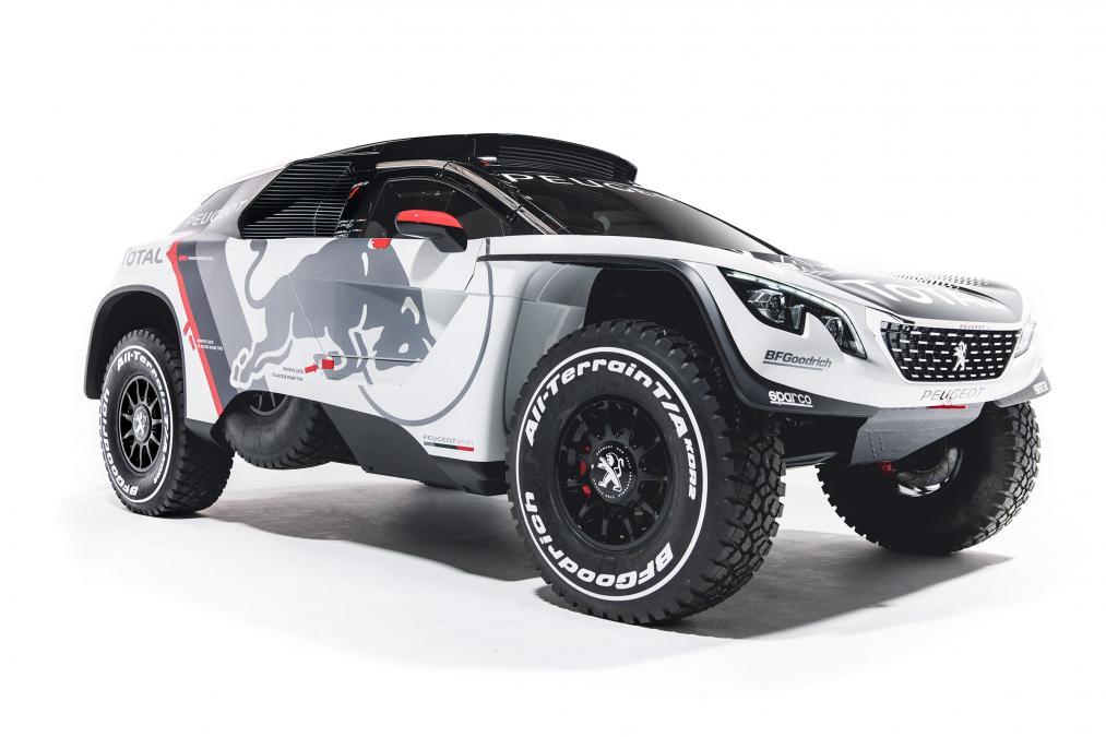Peugeot 3008 DKR – боевой автомобиль Пежо