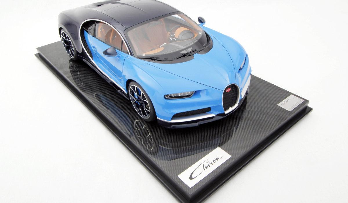 "Bugatti Chiron - ""масштабная"" мечта по цене Ланоса"