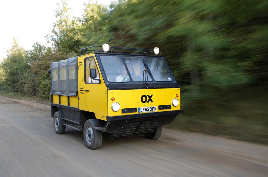 Раскладной грузовик Ox