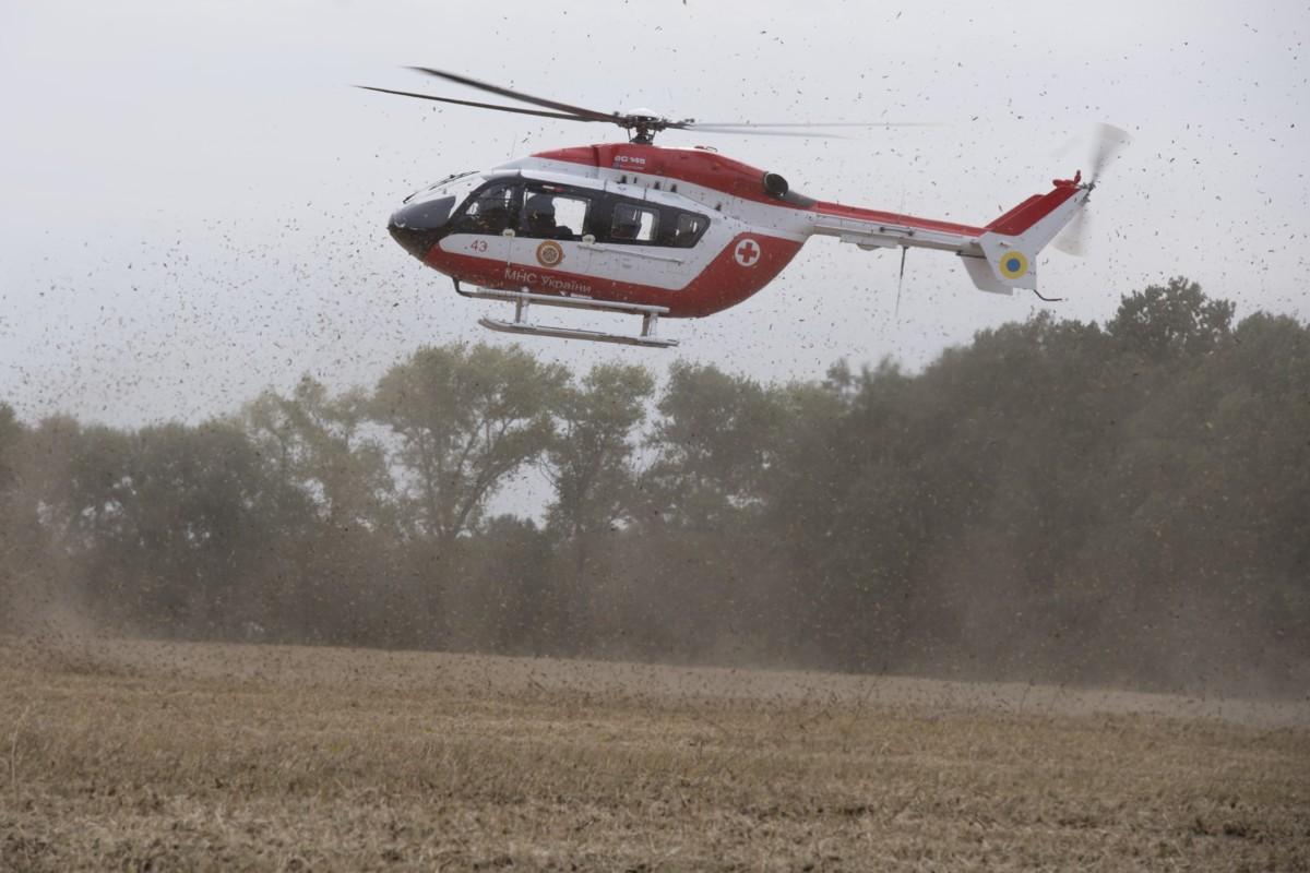 Ремонт автодорог Гройсман проверял на вертолете