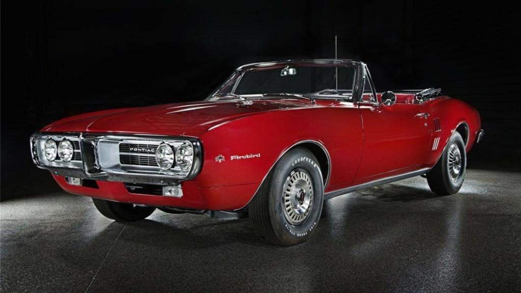 Первые выпущенные Pontiac Firebird хотят продать на вес золота