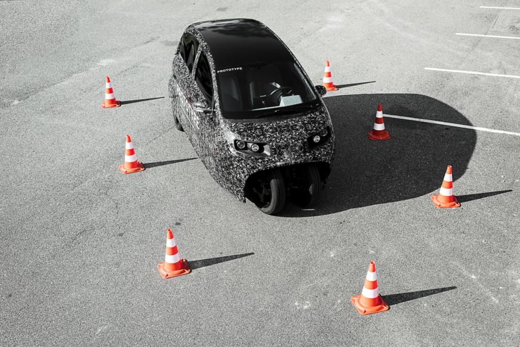 Новый электромобиль Spiri научит таксовать и экономить