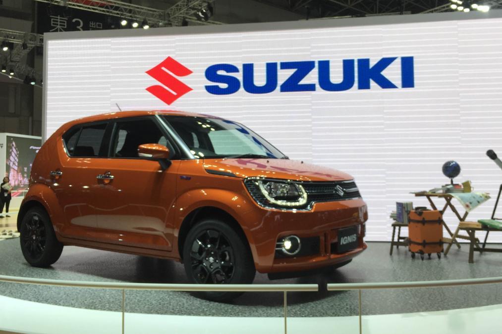 Suzuki Ignis – самый маленький кроссовер в линейке японской марки