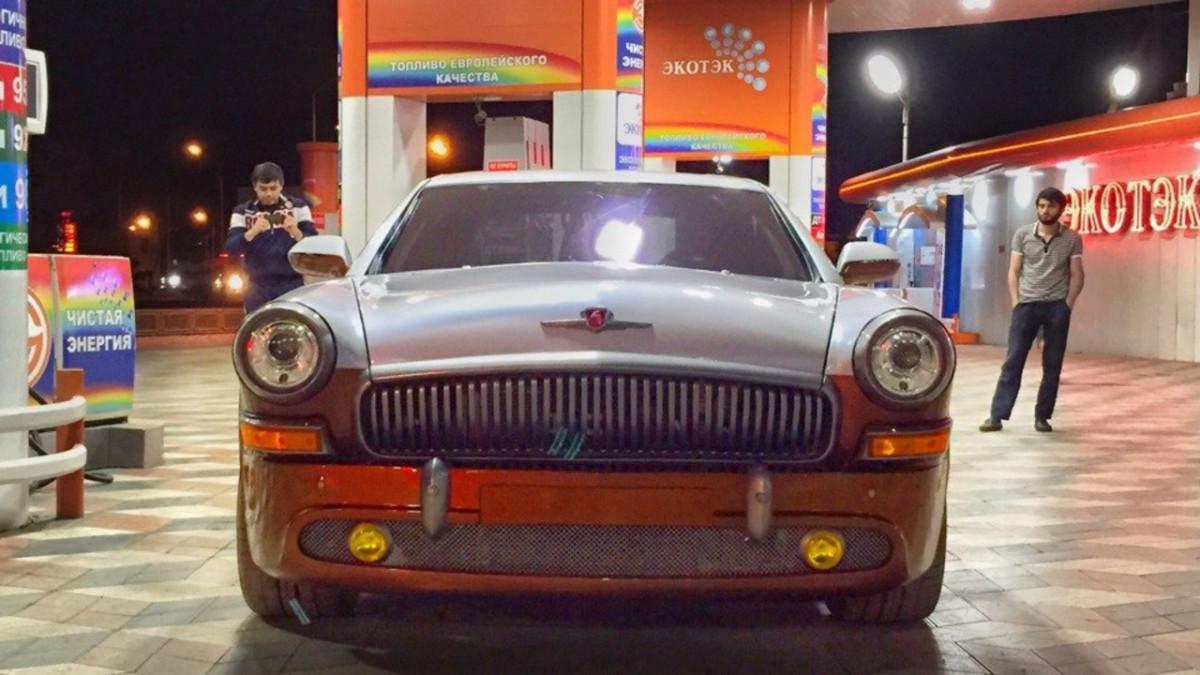 Купе Волга 21 из заряженного Mercedes CL55 AMG