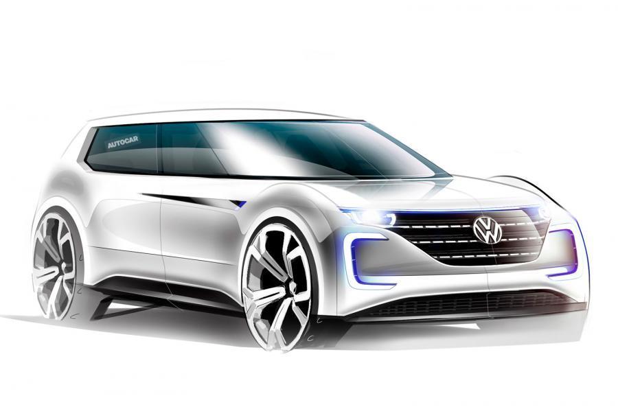 Электромобиль Volkswagen будет распознавать владельца