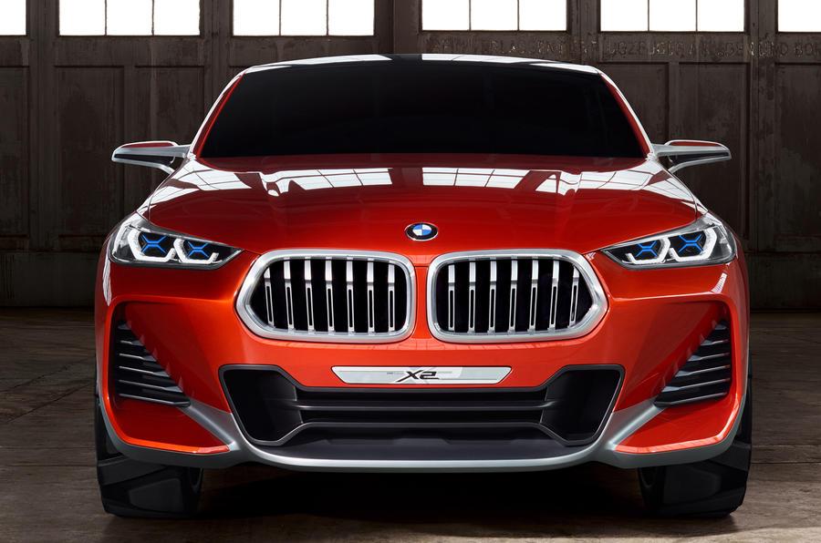 BMW X2 Concept - каким будет новый кроссовер БМВ 2018