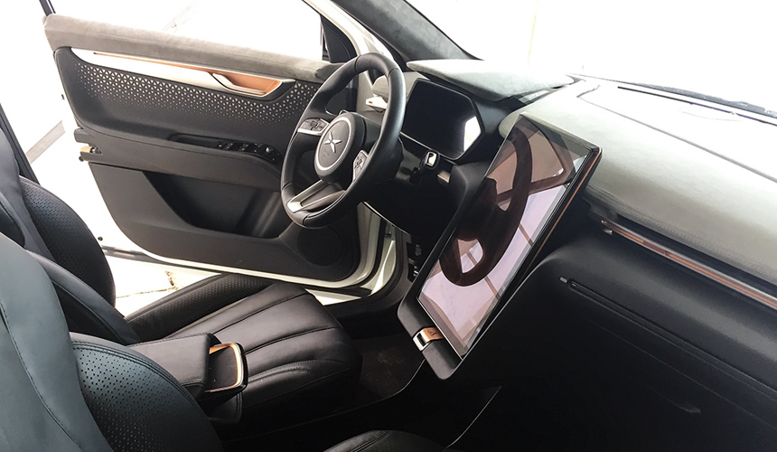 Китайская Тесла - кроссовер Beta составит конкуренцию Tesla Model X