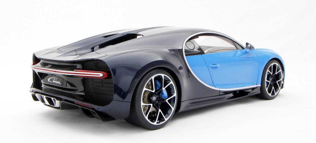 Bugatti Chiron - масштабная модель за 10 тысяч долларов