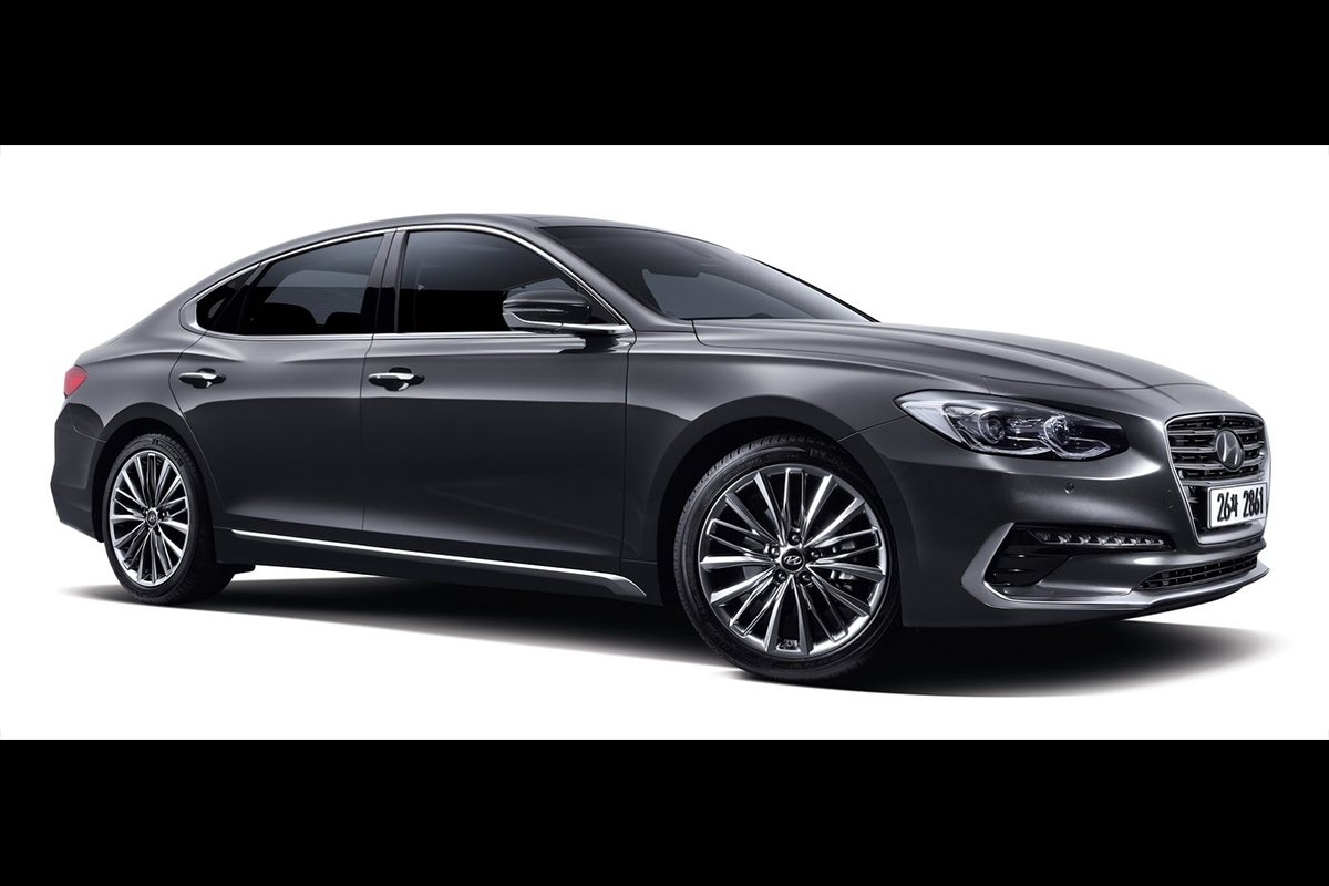 новый премиум-седан Hyundai Grandeur 2017