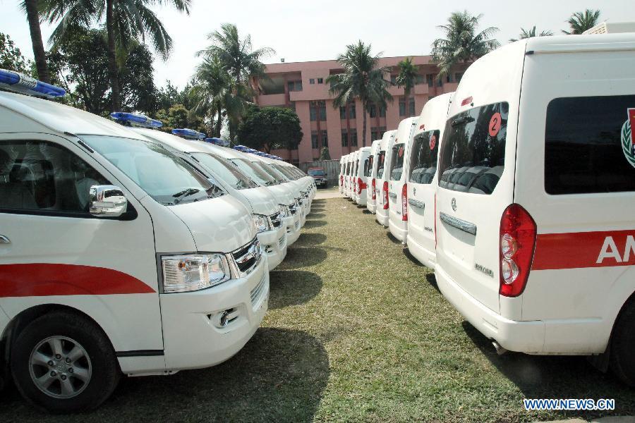 Автомобили скорой помощи Украине подарит Китай