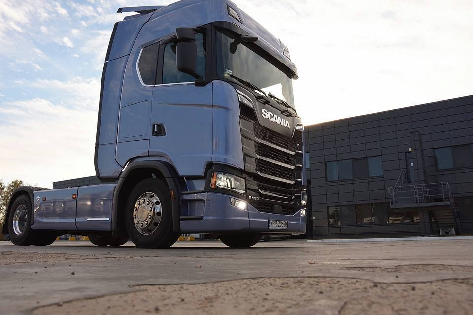 Scania S-серии в Украине