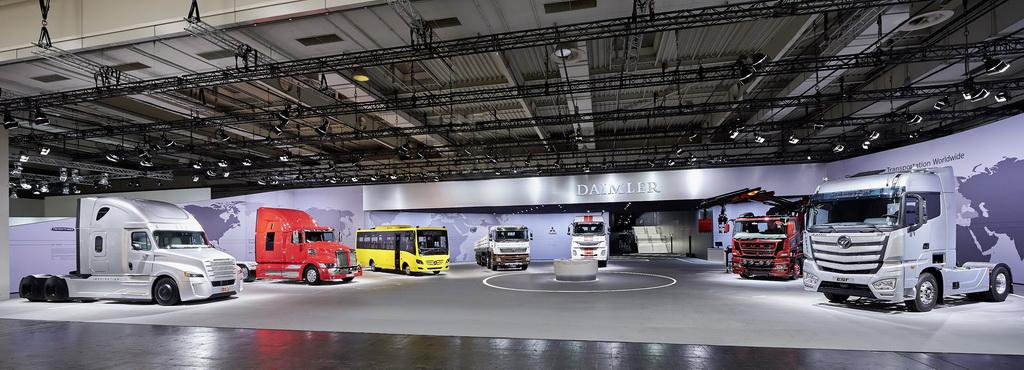 На выставке коммерческих автомобилей IAA 2016