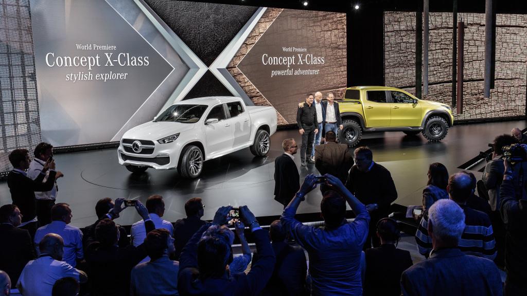 Mercedes-Benz X-Сlass: когда пикап Мерседес появится в Украине