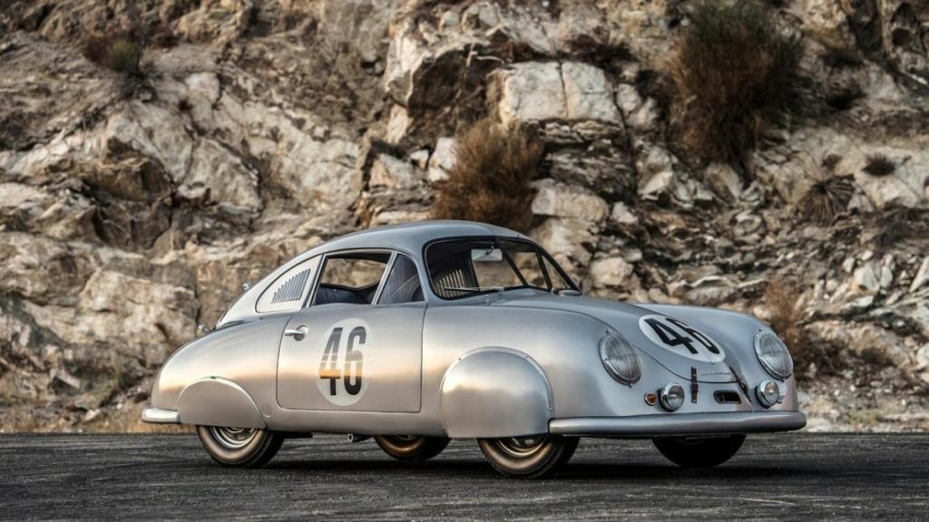 Первый гоночный Porsche восстановлен до оригинального состояния