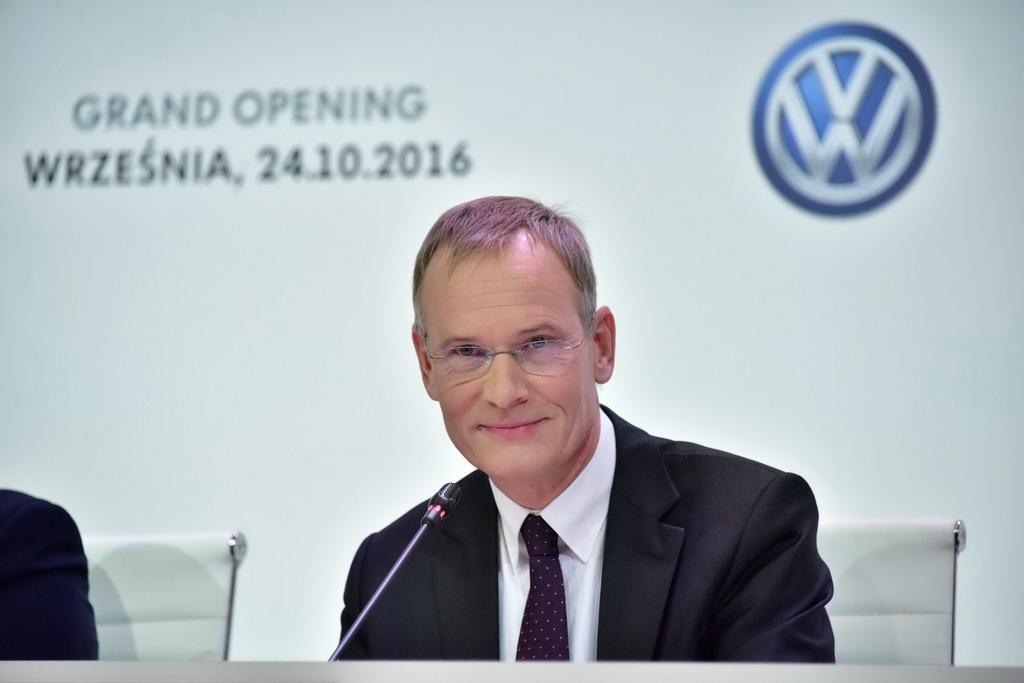 д-р Экхард Шольц председатель правления подразделения Volkswagen Commercial Vehicles
