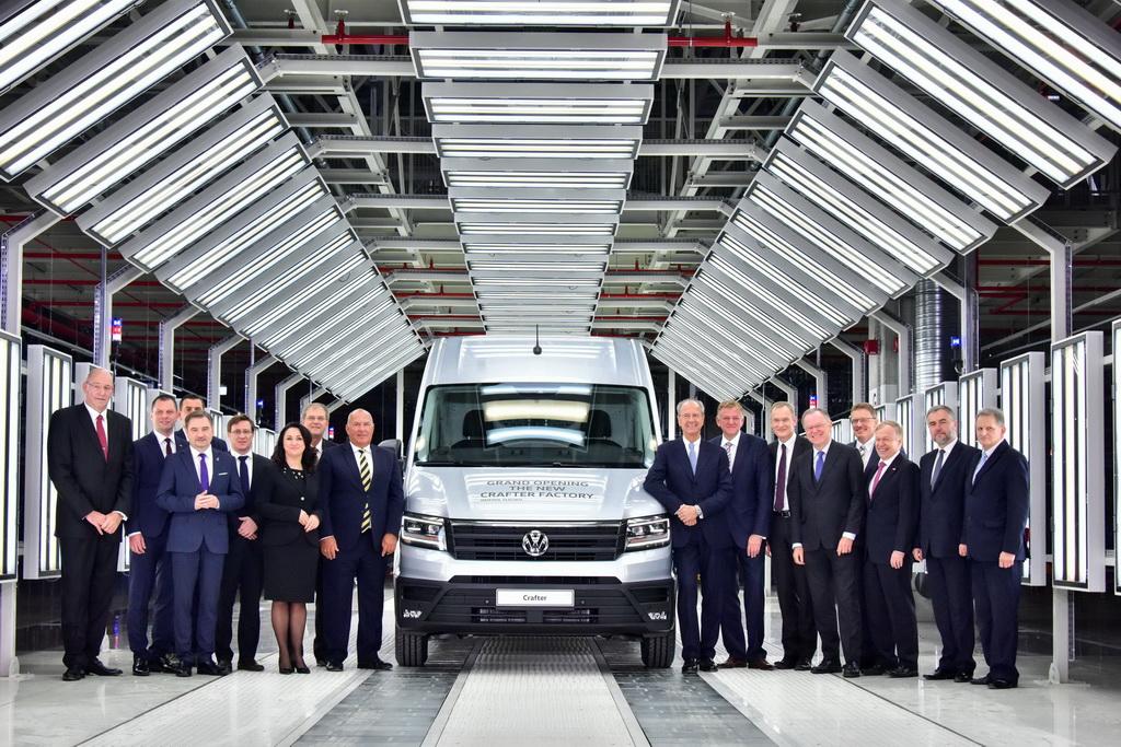 Volkswagen открыл супер-завод за 800 миллионов евро