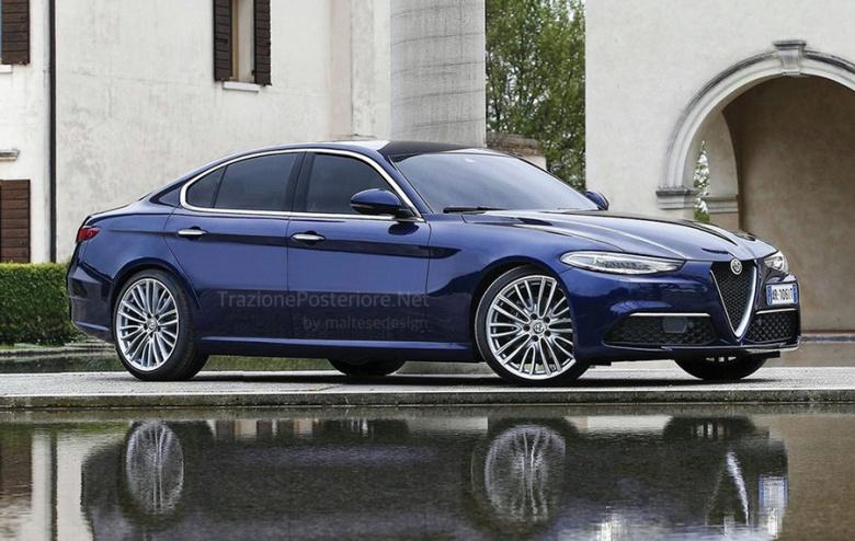 Alfa Romeo Alfetta – итальянский конкурент BMW 5 и Audi A6