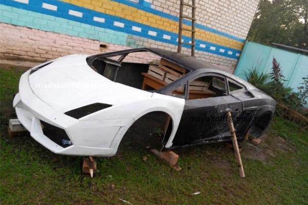 Суперкар Lamborghini Gallardo по цене Ланоса