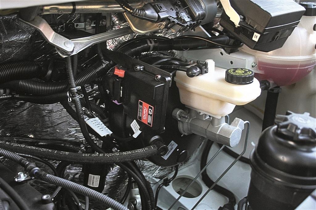 Двигателю в 107 л.с. не хватает эластичности, поэтому его нужно крутить до 2200–2500 об/мин.
