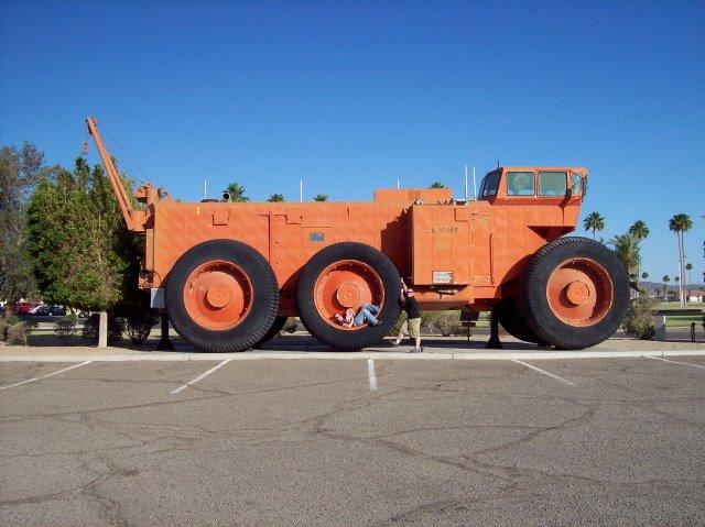 Автопоезда LeTourneau - самые большие автомобили в мире