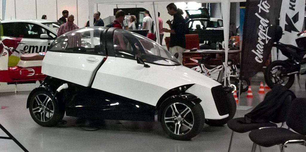 электромобиль 4ekolka за 11 тысяч евро