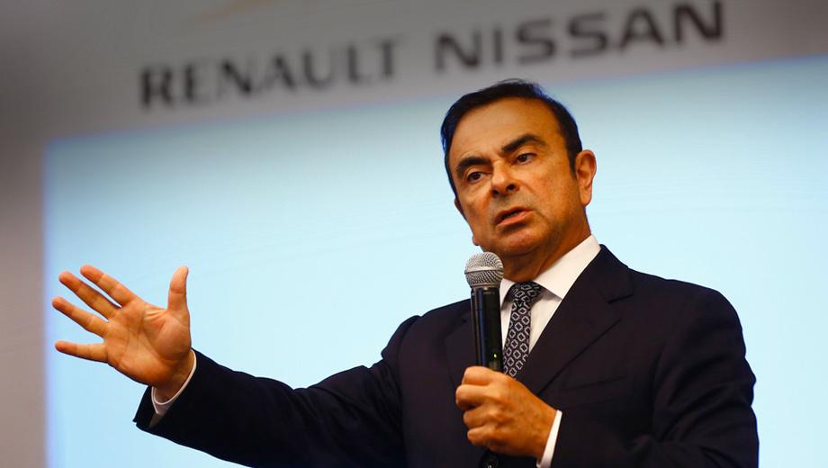Карлос Гон будет у руля Renault-Nissan и Mitsubishi