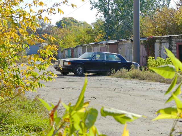 В Украине нашли Роллс-Ройс, который 15 лет простоял в гараже