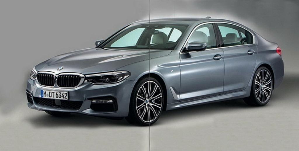 Новая БМВ 5 – первые фото BMW 2017 снаружи и внутри