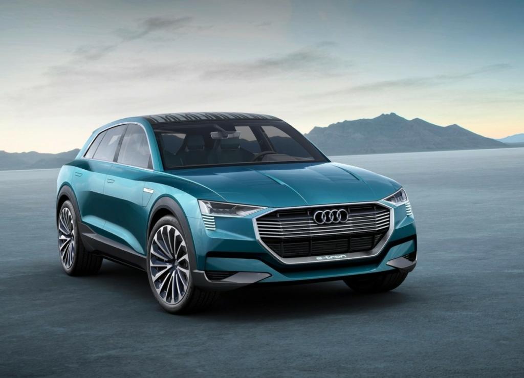 Audi представят три электромобиля до 2020 года
