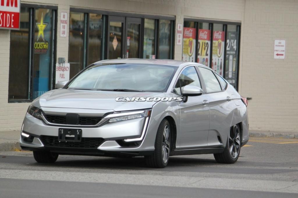 Водородный автомобиль Honda Clarity – почти 600 км на одном баке