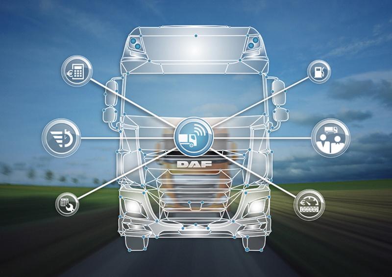 DAF удивил автоперевозчиков телематикой и двигателями