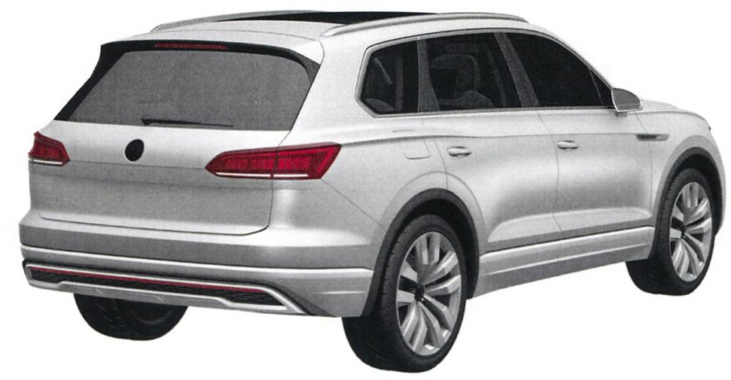 Новый Volkswagen Touareg – первые изображения внедорожника