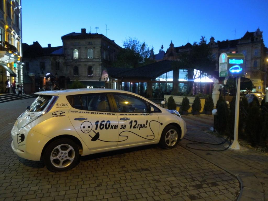 Рынок электромобилей: Украина вошла в Топ-10 лидеров Европы