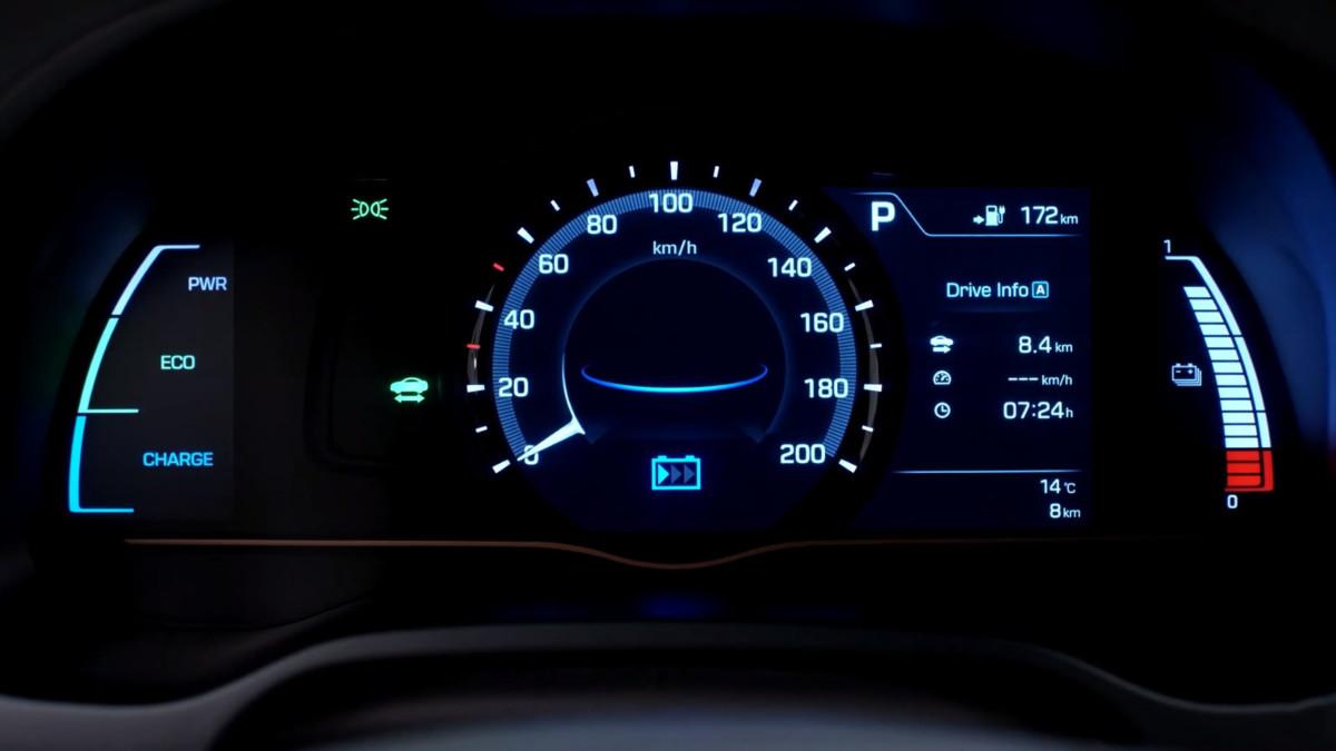 Электромобиль Hyundai IONIQ появился в Украине