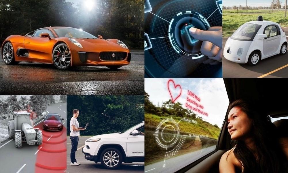 Самые технологичные автомобили 2016