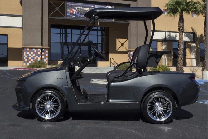 Электромобиль Chevrolet Camaro для любителей гольфа