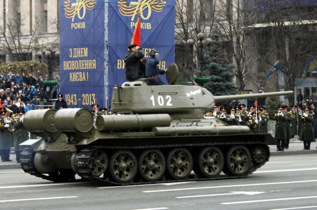 Сталь и огонь. Лучшая бронетехника Украины