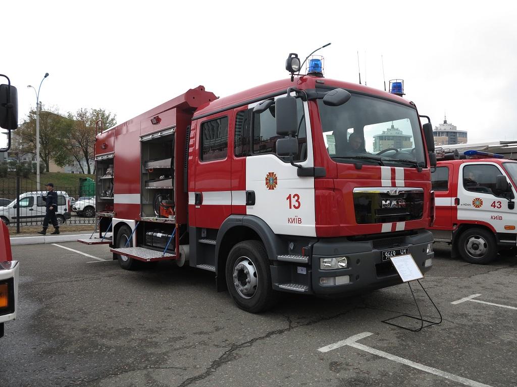 Пожарная автоцистерна на шасси MAN TGM