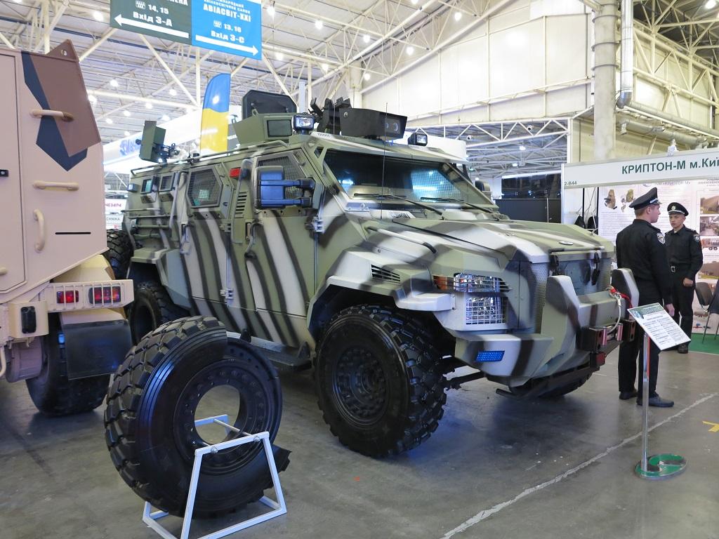 беспилотный бронеавтомобиль КрАЗ-Spartan