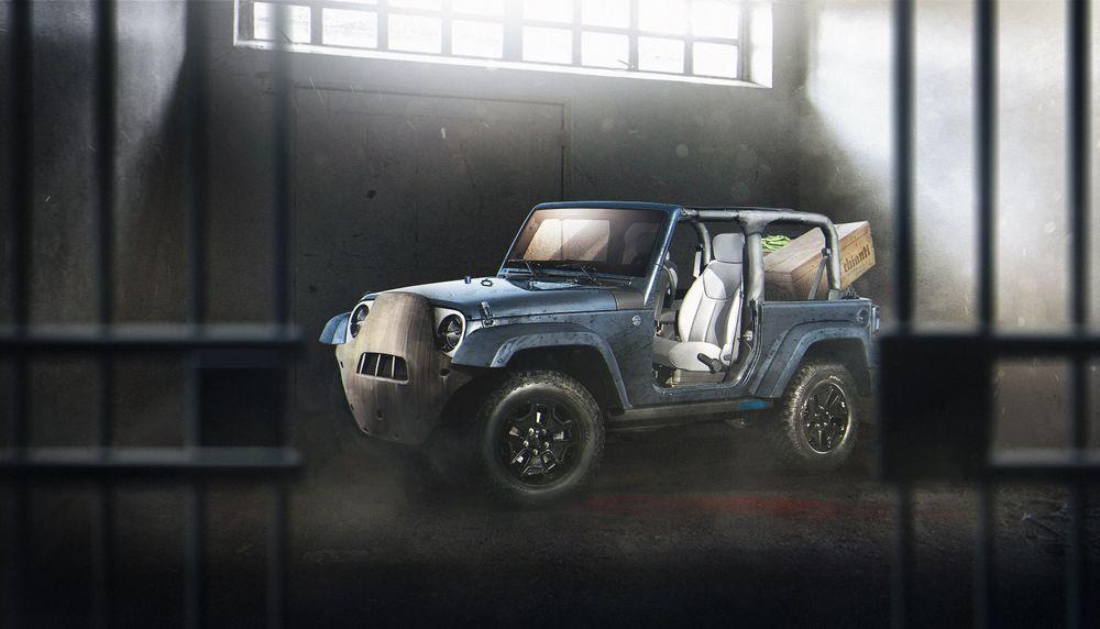 Jeep Wrangler в облике доктора-психопата Ганнибала Лектера