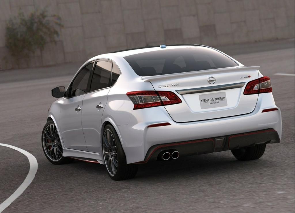 Заряженный седан Nissan Sentra Nismo представят в Лос-Анджелесе