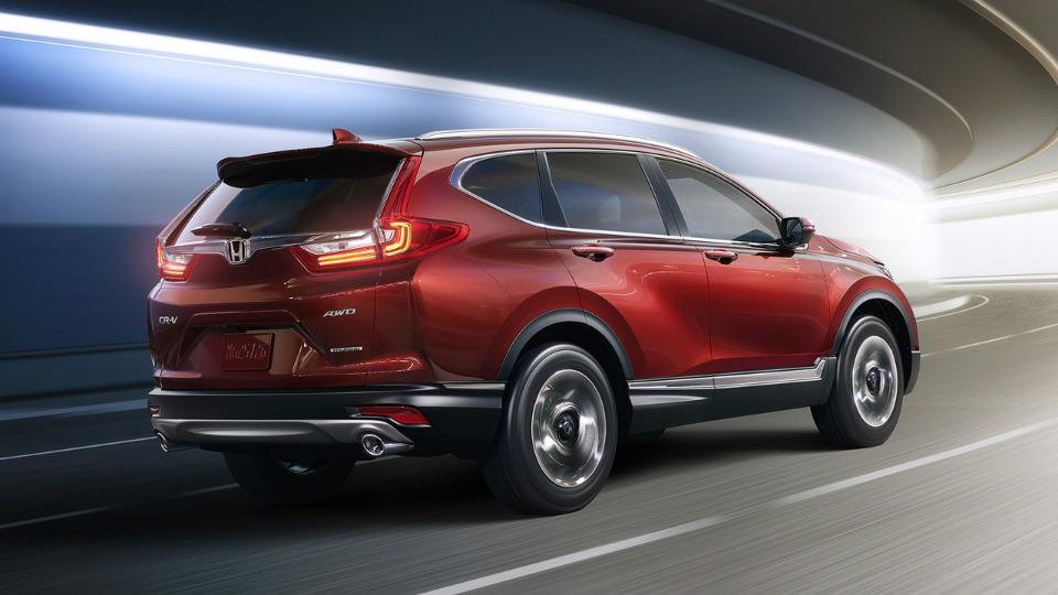 Новая Хонда СРВ: первые фото и характеристики CR-V 2018