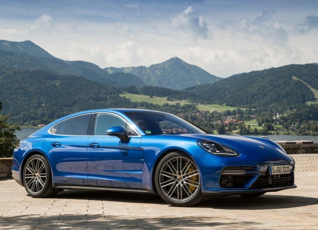 Porsche Panamera 2017 станет донором для новых купе