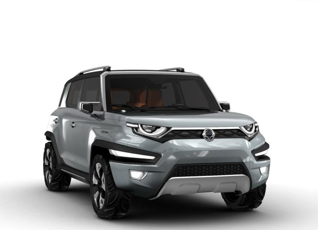 Новый SsangYong Korando станет электромобилем